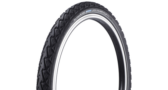 "SCHWALBE Land Cruiser Plus band Active 24 x 2.00"" K-Guard draadband zwart"